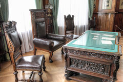 Interior of the Livadia Palace. Cabinet Stock Images