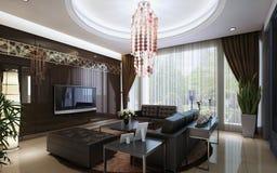 Interior living Stock Photo
