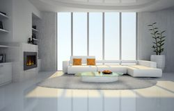 Interior of the living-room Stock Photos