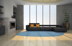 Interior of the living-room Royalty Free Stock Photo