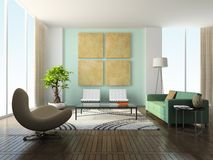 Interior of the living-room Royalty Free Stock Photography