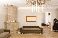 Interior of  living room Royalty Free Stock Photos