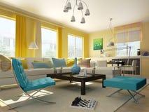 Interior living-room Stock Image