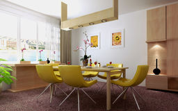 Interior living-room Royalty Free Stock Images