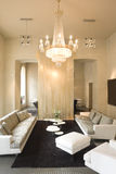 Interior of living room. Interior of a living room Royalty Free Stock Images