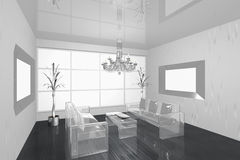 Interior living room Royalty Free Stock Photography