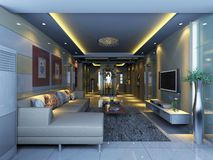 Interior living-room Royalty Free Stock Image
