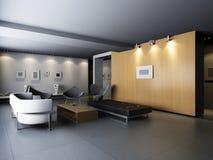 Interior living-room Royalty Free Stock Photo