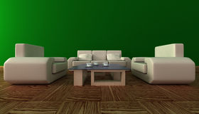 Interior of a living room. Stock Photography