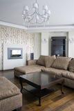 Interior of living room Stock Photos