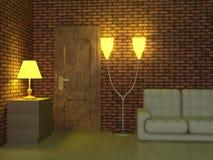 interior living room Στοκ εικόνες με δικαίωμα ελεύθερης χρήσης