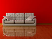 Interior of a living room. Royalty Free Stock Photography