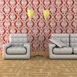 Interior of a living room. Stock Photo