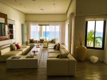 Interior living room house Royalty Free Stock Image