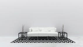 Interior living room modern style royalty free stock photos