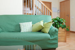 Interior of living room with sofa royalty free stock photo