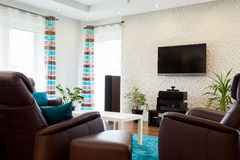 Interior of living room Royalty Free Stock Image