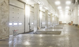 Interior Loading Bay Royalty Free Stock Images
