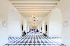 Interior of Loire Valley castle Royalty Free Stock Images