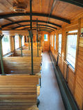 Interior of lold train carriage Royalty Free Stock Images