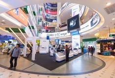 Interior of Low Yat Plaza, Kuala Lumpur Stock Images