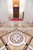 Interior lujoso con mármol Fotos de archivo libres de regalías