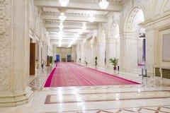 Interior lujoso del palacio Fotografía de archivo libre de regalías