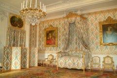 Interior lujoso del palacio Fotografía de archivo