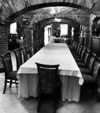 Interior lujoso del palacio Mirada artística en blanco y negro Imágenes de archivo libres de regalías