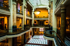 The interior of the Lunder Conservation Center at the Smithsonia Royalty Free Stock Image