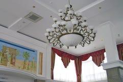 Interior, lustre. Imágenes de archivo libres de regalías