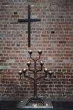 Interior of Lutheran Church Marktkirche Royalty Free Stock Photography