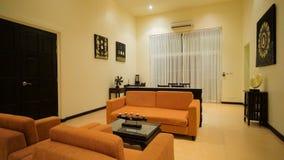 Interior luxuoso bonito do apartamento filme