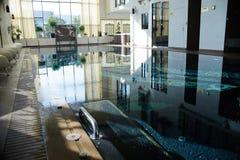 Interior luxuoso da piscina Imagem de Stock