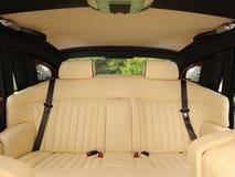 Interior luxuoso do carro foto de stock royalty free