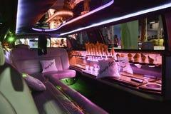 Interior luxuoso do carro Fotografia de Stock