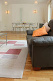 Interior luxuoso moderno do apartamento fotografia de stock royalty free