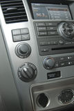 Interior luxuoso moderno do carro Imagens de Stock Royalty Free