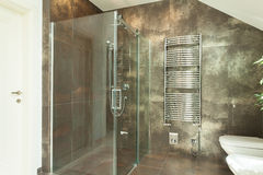 Interior of luxurious bathroom Royalty Free Stock Photos