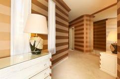 Interior luxury apartment Stock Images