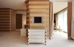 Interior luxury apartment Royalty Free Stock Photos