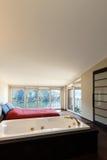 Interior luxury apartment, jacuzzi Royalty Free Stock Photo
