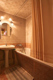 Interior of luxury bathroom Royalty Free Stock Images