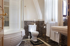 Interior of a luxury bathroom.  Stock Photography