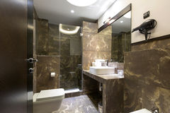 Interior of a luxury bathroom Royalty Free Stock Photo