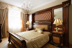 Interior of a luxury bedroom Stock Photo