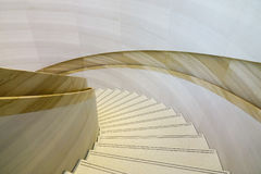 Interior of luxury building with marble stairs Stock Images