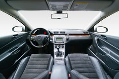 Interior of luxury car Royalty Free Stock Image