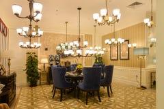 Luxury lighting shop Royalty Free Stock Photography