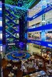 Interior of luxury Evropejskij mall in the city centre Stock Photo